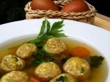 Knedlíčky do polévky z míchaných vajíček recept