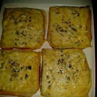 Sýrové toasty z trouby recept