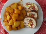 Pikantní kuřecí roláda recept
