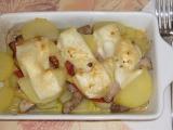 Zapečené brambory s vepřovým masem recept