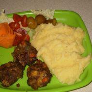 Dětské karbanátky se zeleninou recept