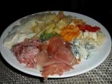 Večerní talíř k vínu recept