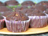 Kakaové muffiny s hruškami recept