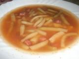 Polévka s fazolkami recept
