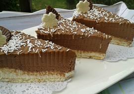 Nepečené čokoládové řezy s tvarohem recept