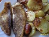 Tilapie pečená s bramborami recept
