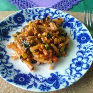 Královská vegetariánská pánev recept
