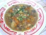 Zeleninová polévka s pohankou recept