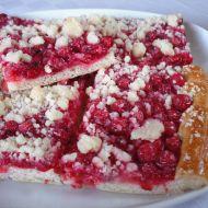 Rybízový koláč s máslovou drobenkou recept