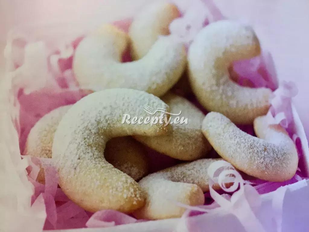Vanilkové rohlíčky recept  nejen vánoční cukroví