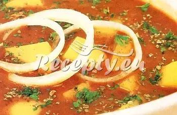 Víkendový bramborový guláš recept  bramborové pokrmy  Recepty ...