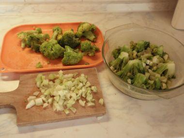 Brokolicový dort
