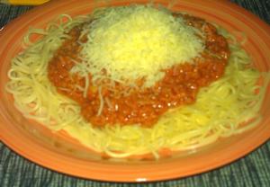 Omáčka šufrung na špagety