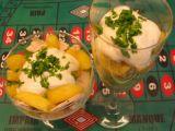 Kuřecí salát s broskví recept