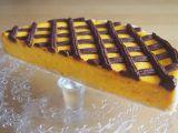 Dýňový cheesecake s čoko mřížkou recept
