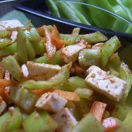 Paprikový salát s karotkou recept
