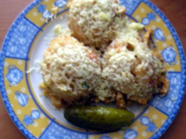 Srbské kuřecí rizoto v mikrovlnce
