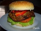 Houbový burger recept