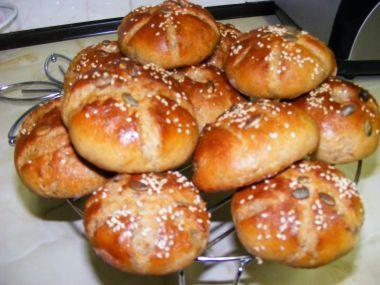 Mini chlebíčky pro trpaslíčky