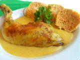 Kuřecí stehna s dijonskou omáčkou a zeleninovým knedlíkem recept ...