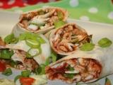 Tortilla s nivou a kuřecím masem recept