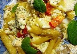 Zapečené těstoviny s nivou a zeleninou v mikrovlnce  CRISP recept ...