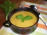 Krémová polévka z mrkve a fenyklu recept