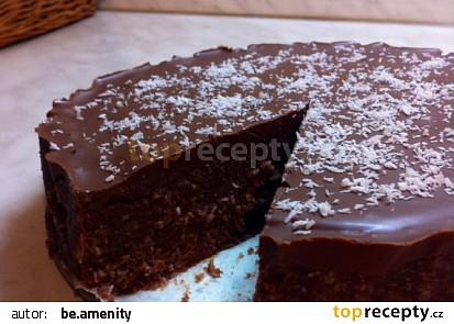 Kokosový nepečený dort recept