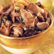 Vepřové na houbách recept
