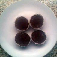 Čokoládové košíčky 1 recept