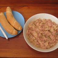 Pikantní vlašský salát recept