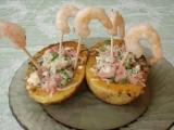 Grilované pikantní krevety recept