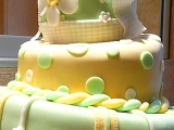 Křivý dort recept