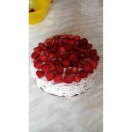 Jahodový dort s čokoládovým krémem recept