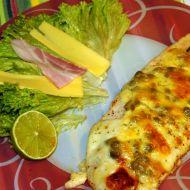 Pangasus zapečený se sýrem a kapary recept
