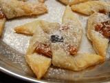 Větrníčky z listového těsta s jablkovou náplní recept