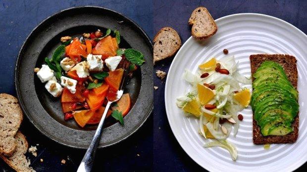 Dva zimní saláty