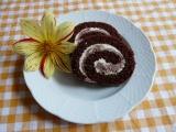 Roláda s mramorovým krémem recept
