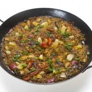 Paella s kuřetem recept