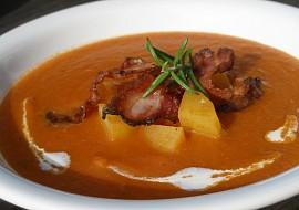 Rajčatovo  bramborová polévka recept