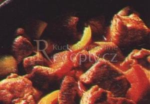 Kuřecí paprikový perkelt