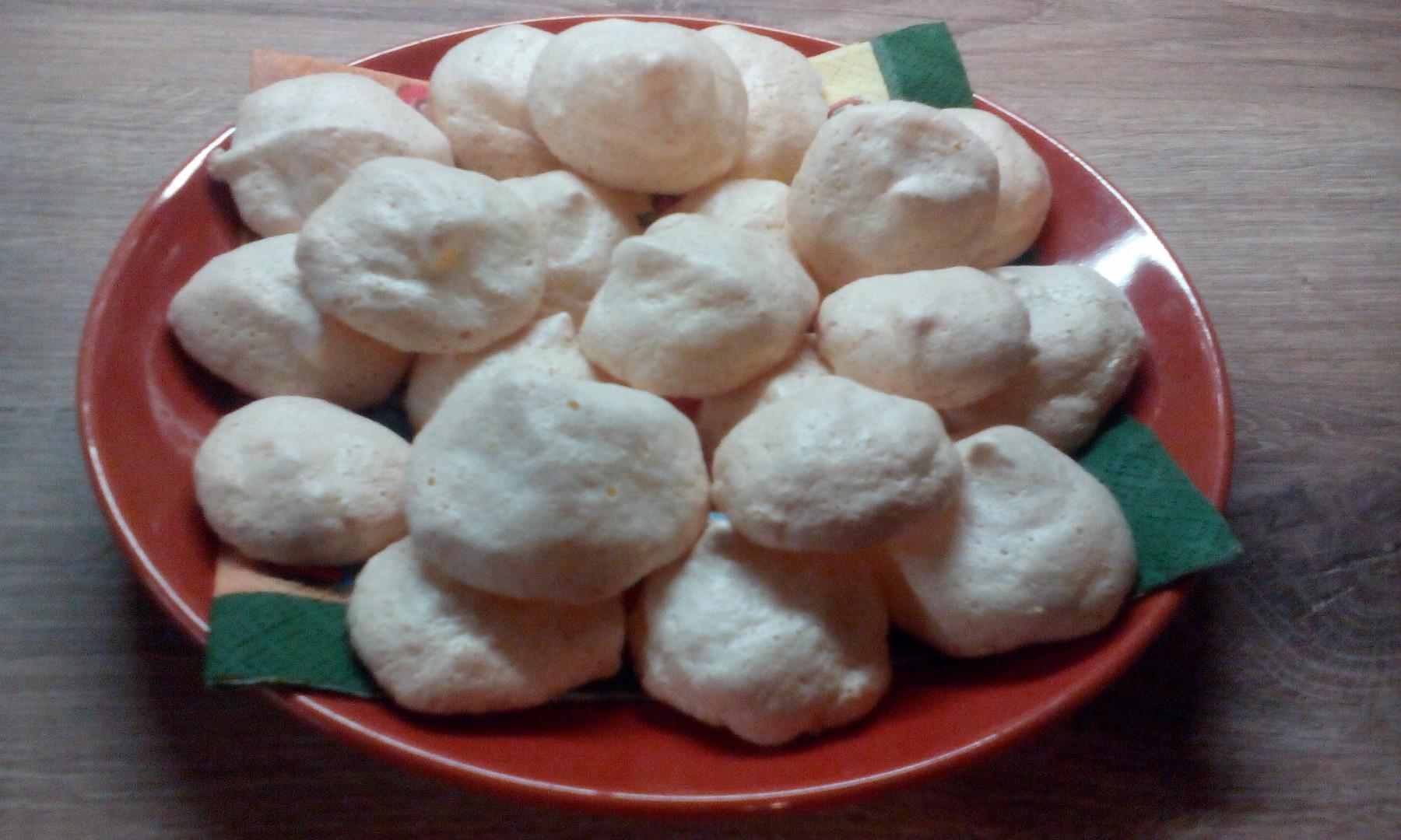 Sněhové kokosky recept