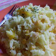 Kari zeleninové rizoto recept