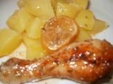 Medovo citronová stehýnka se zázvorem a rozmarýnem recept ...