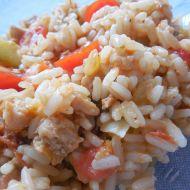 Sójové zeleninové rizoto recept