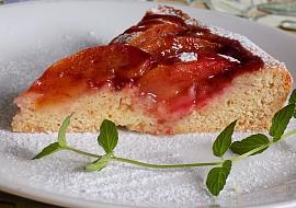Blumový koláč s likérem recept