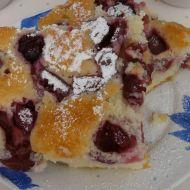 Třešňová bublanina recept