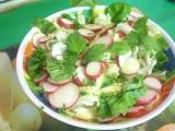 Jarní salát recept