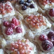 Mřížkovaný koláč s ovocem recept