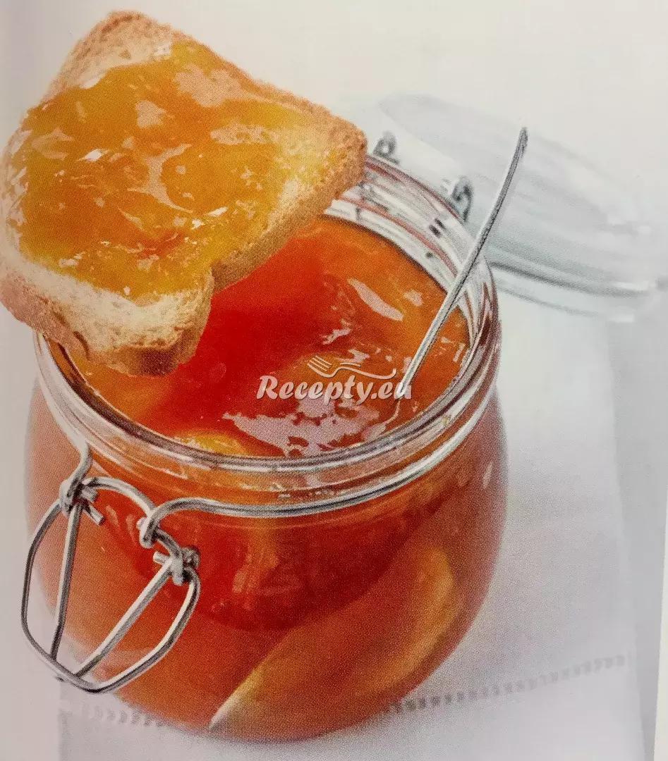 Meruňková marmeláda recept  zavařování, konzervování, sirupy ...